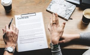 contract in relationship