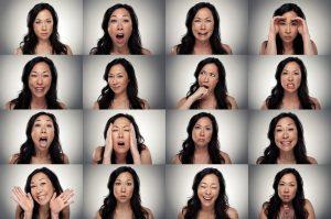 wide range of emotions