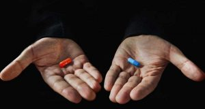 red pill vs blue pill