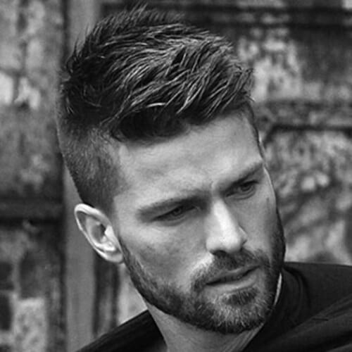 men's style facial hair