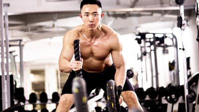 man working out, increasing smv