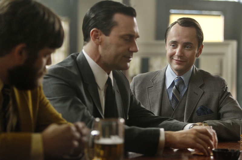don draper drinking whisky, not caring