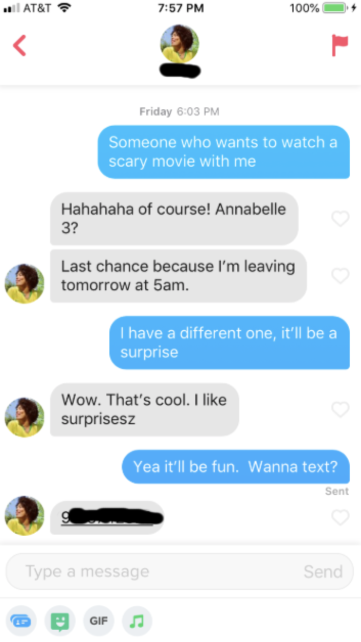 how to open a girl on tinder