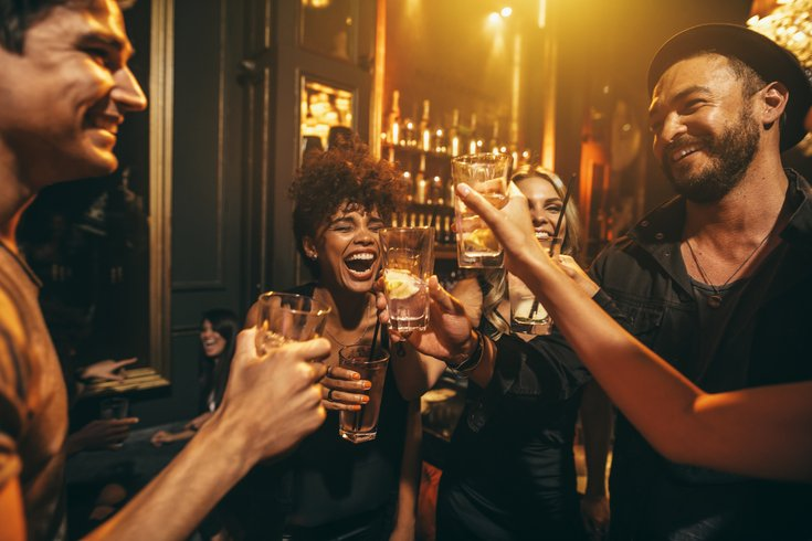 going out with friends - social proof