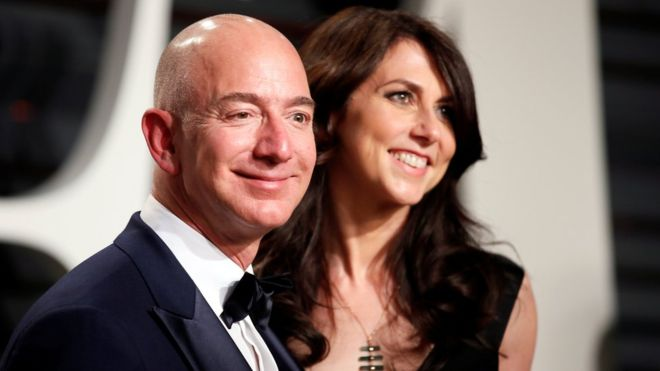 jeff bezos - divorce rape