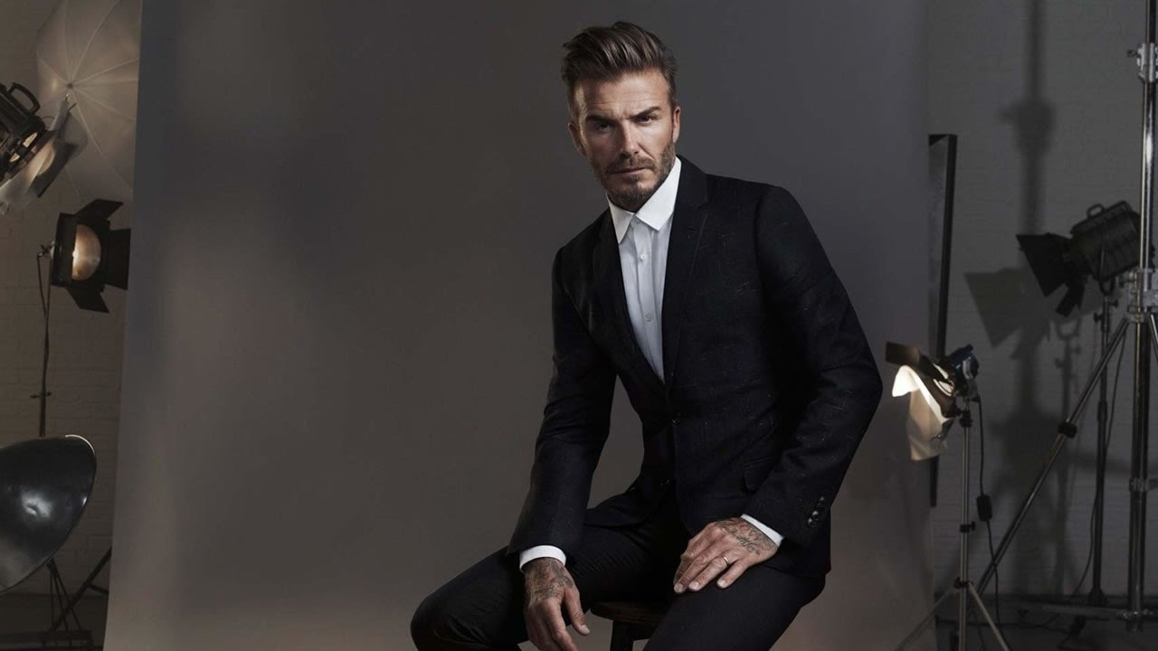 how to have sex appeal as a man - david beckham