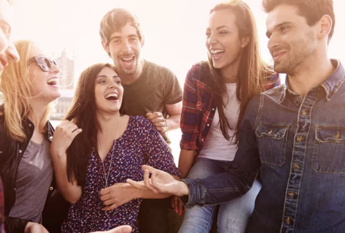 Relationship Market Value - group of friends