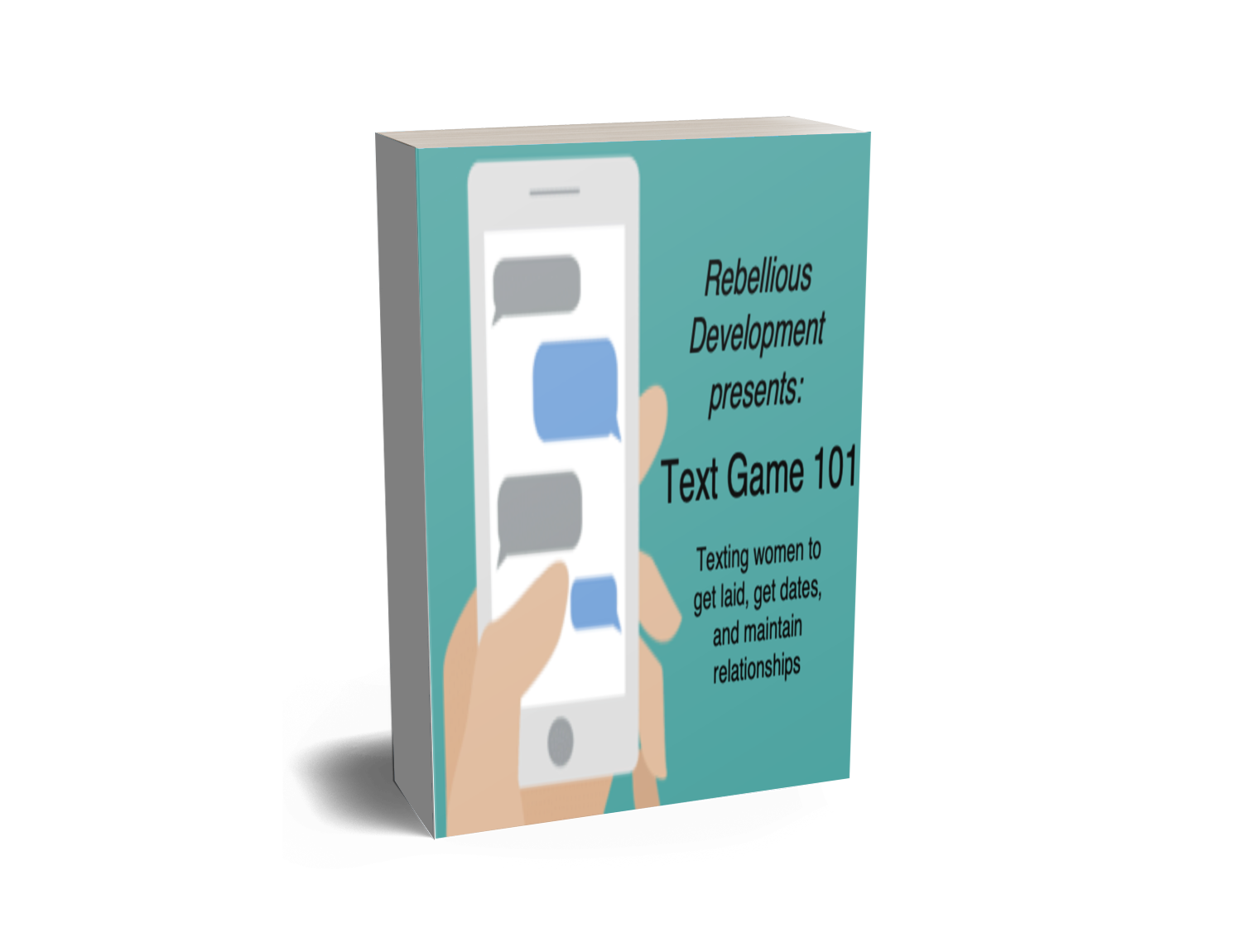 text game ebook cover