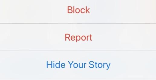 Block then unblock