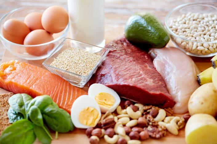 ideal diet - lean meat, veggies, fish
