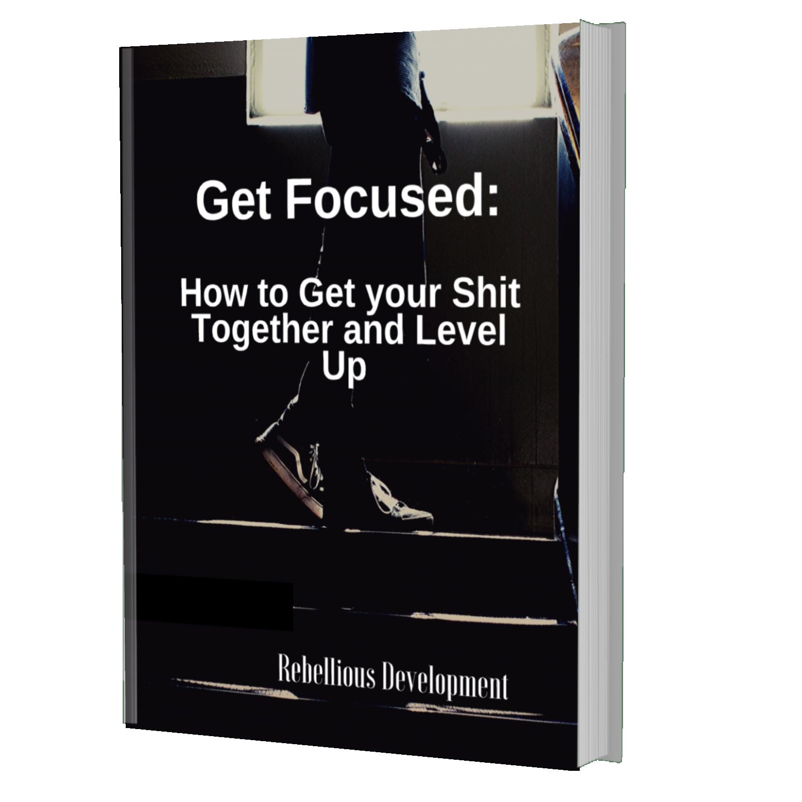 Get focused - ebook cover